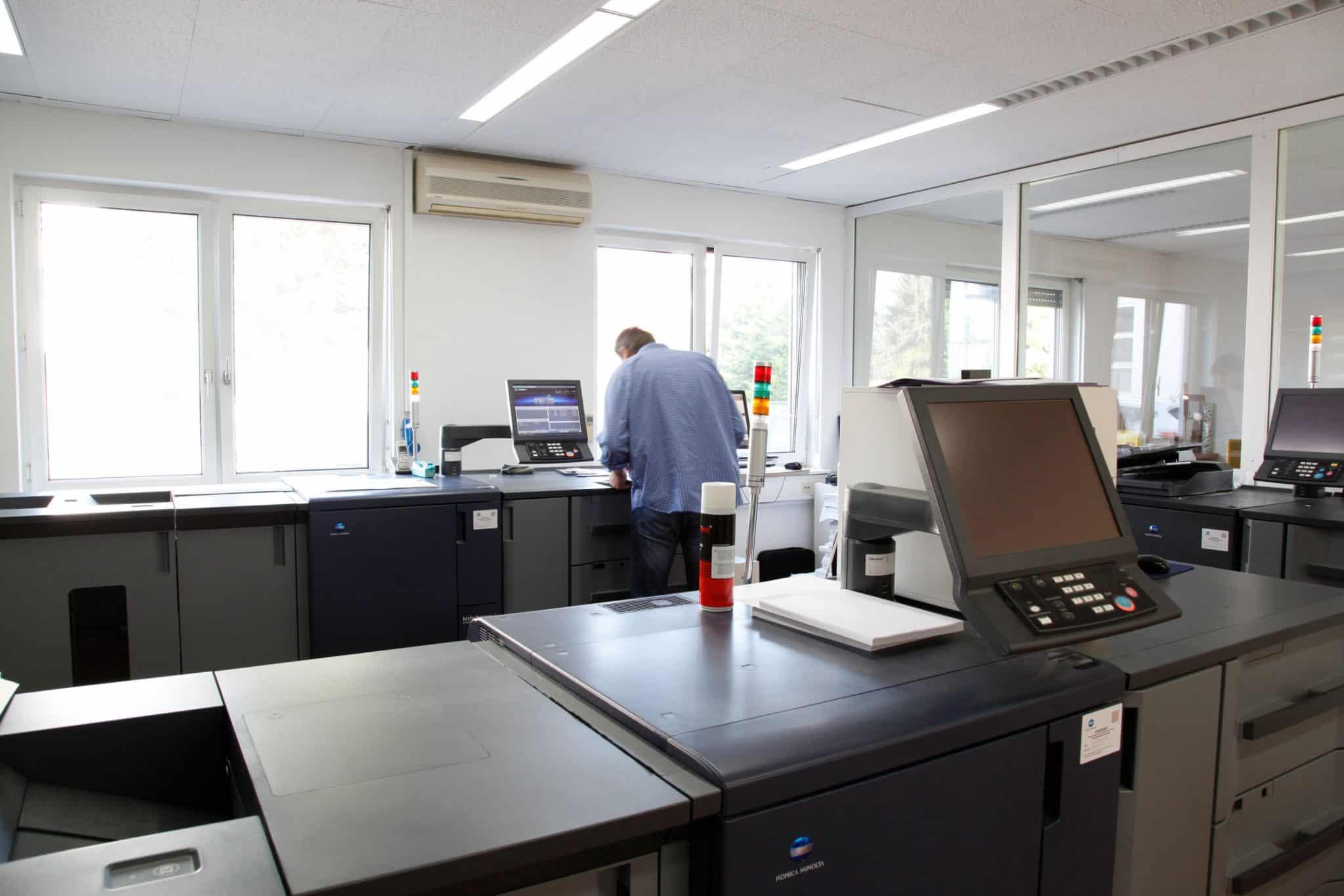 Digitaldruck In Der Bernsteiner Druckerei In Wien