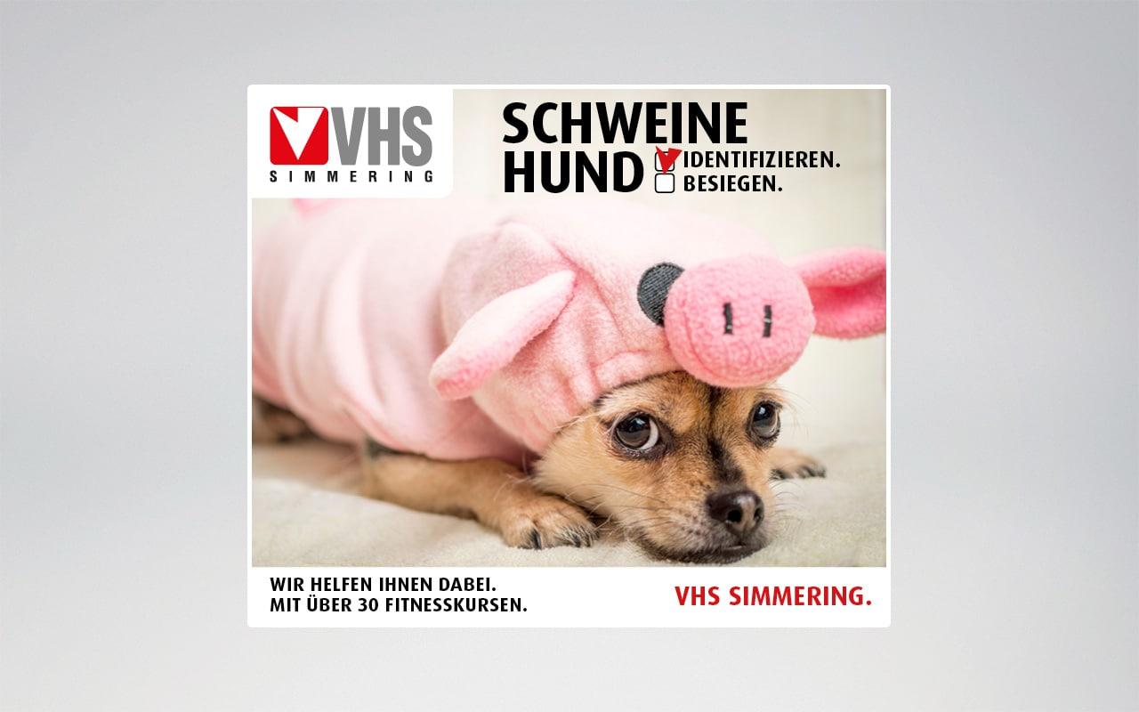 Social Media Gestaltung & Mediaschaltungen für VHS Simmering