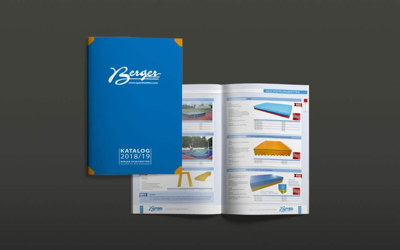 Von der Website bis zum Katalog für Berger GmbH