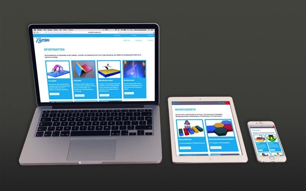 berger-responsive-website