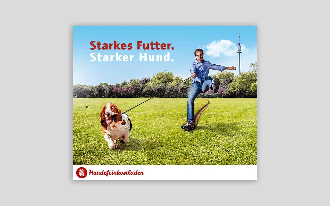 Social Kampagnen & Kreativretuschen für den Hundefeinkostladen