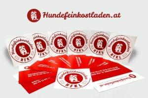 Hundefeinkostladen_Sticker_Karten