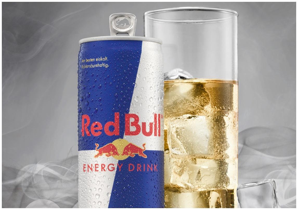 Retusche & Druck für Red Bull