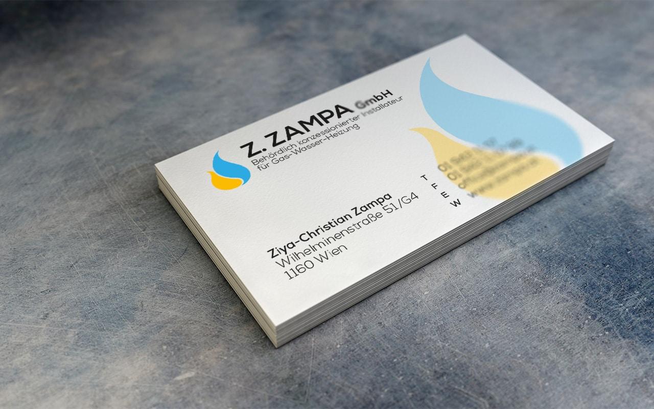 Website-Relaunch & Drucksorten für ZAMPA
